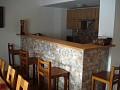 Chata Dolinka - spoločenská miestnosť s krbom, TV SAT a barom